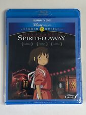 Spirited Away (Blu-ray/Dvd, 2015, 2-Disc Set) Studio Ghibli New Factory Sealed