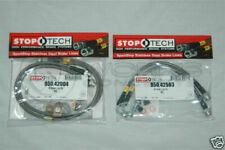 StopTech Stainless Brake Lines F/R For Porsche 911 996 997