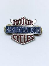 Vintage Harley Davidson Motorcycle Badge Pin