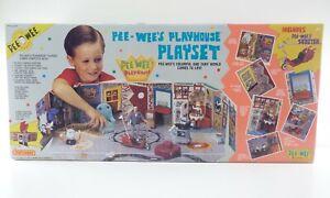 Vintage PEE WEE'S PLAYHOUSE PLAYSET Matchbox unopened Sealed Pee Wee Herman 1988