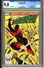 "DAREDEVIL #189  CGC 9.8 WP NM/MT Marvel Comics 1982  Frank Miller  ""Death"" Stick"