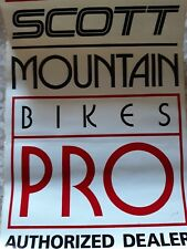 Scott Mountain Bike Pro Sticker
