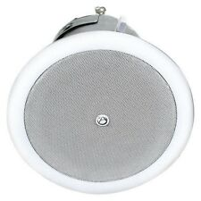 "Atlas Sound FAP42T Coaxial Ceiling Speaker System 4"" 2 Way Pair New in Box White"
