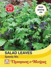 Thompson & Morgan-verduras Ensalada Hojas-Speedy Mix - 500 semillas