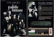 LA FAMILLE ADDAMS - Volume 3 - 1 Boitier Classique Large 3 DVD - NEUF