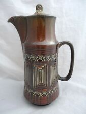 Vintage 1960/70's Brown SylvaC TOTEM Coffee Pot 4202