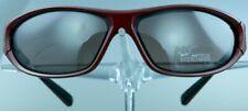 NIKE 0553 Sonnenbrille Rot Kunststoff Sport Damen Herren Sunglasses NEU