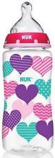 NUK Trendline Bottle Medium Flow Nipple, 0+ months, Color May Vary, 10 oz