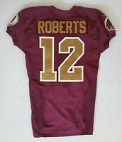 #12 Andre Roberts of Redskins NFL Locker Room Game Issued Alternate Jersey