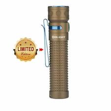 Olight Baton Pro 2000 Lumen LED Rechargeable Flashlight EDC Torch (DESERT TAN)