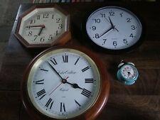 Foster Callear Quartz Clock + Hanson Octagonal Clock + H. Samuel Travel Clock +