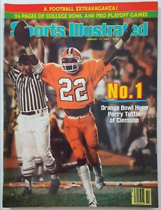 1982 Sports Illustrated * Perry Tuttle CLEMSON * No Label * Dan Marino