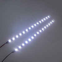 "2x 12"" White  3528 SMD Flexible LED Light Strips for car/truck head fog lights"
