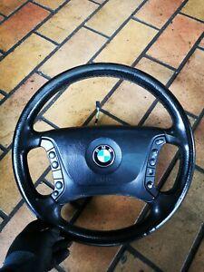 Original BMW 5er E39 Lederlenkrad Multifunktion Lenkradheizung 6753739