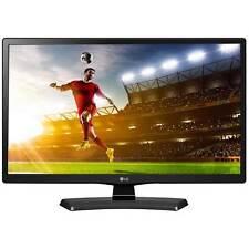 """LG 24MT48S 24"""" Smart HD Ready TV LED IPS Wi-Fi y TDT & Freesat-Negro"""