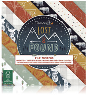 Dovecraft LOST & FOUND - 6x6 Paper Pad - 48 Sheets - Adventure - Nature