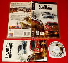 WRC FIA WORLD RALLY CHAMPIONSHIP Psp Versione Italiana 1ª Ed ○ COMPLETO - FA
