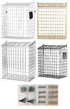 EXTRA LARGE LETTERBOX DOOR  CAGE POST MAIL LETTER BOX BASKET CATCHER DOG GUARD