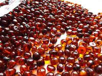 Cognac Ámbar Báltico Cuentas Sueltas chips refinado 10gr collar de bebé