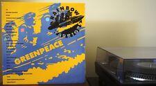 RARE Greenpeace Rainbow Warriors Polish vinyl double record album Tonpress