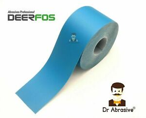 HOOK and LOOP Sandpaper Roll 115mm Sanding Wet and Dry Strips 40-2000 QUALITY