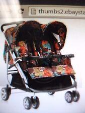 Zooper TANGO Standard Double Seat Stroller - Mountain Flowers