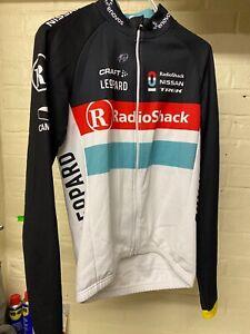 Radio Shack Leopard Trek Craft Cycling Jersey  Frank Schleck Luxembourg Champ S