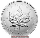 CANADA $5 1oz FINE SILVER COIN WITH ANA PRIVY MARK - SILVER MAPLE LEAF - 2014