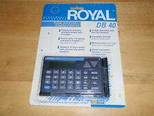 Royal Db 40 Electronic Databank Phone Directory Schedule Keeper New Sealed Db40