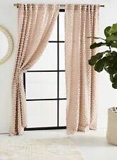 New Anthropologie Textured Mareika Curtain Single Panel 50 X 63