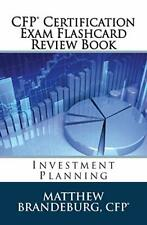 CFP Certification Exam Flashcard Review Book: Investment Planning (2019 Editi…