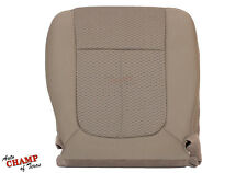 2009-2010 Ford F-150 XLT -Driver Side Bottom Replacement Cloth Seat Cover Tan