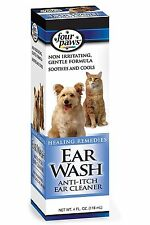 FOUR PAWS DOG CAT SOOTHING COOLING ANTI ITCH EAR WASH CLEANS EARS 118ML  01734