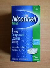 NICOTINELL Mint 1mg / 2mg Compressed Lozenges X 96 ( Choose Strength )