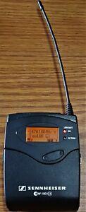 Sennheiser SK100 G3 Wireless Bodypack Mic Transmitter A1 470-516 MHz EW100 NICE