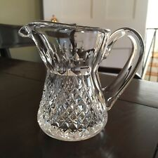 Waterford Crystal Alana Creamer, Jug, or Small Pitcher - Signed