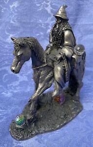 Gandalf And Shadowfax Myth And Magic Pewter Figurine
