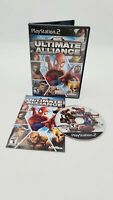 MARVEL Ultimate Alliance (Sony PlayStation 2, 2006) With Manual
