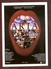 Cinema-Filmkarte; Aria - Robert Altman u.a.