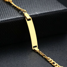 Infant Newborn Baby/Childrens Boys/Girls Gold Filled Bracelet Chain