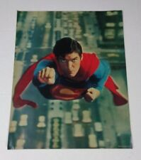 Original 1970's Christopher Reeve DC Action Comics Superman movie poster 1: 1978