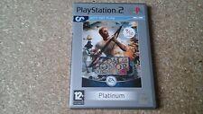 Medal of Honor Rising Sun-Version 2 - (PS2)