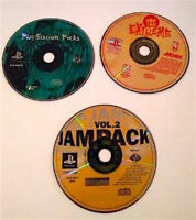 PlayStation 1 PS1 Lot 3 Games Tested NBA Extreme Vol 2 Jampack Playstation Picks