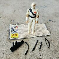 Vintage GI Joe Figure 1984 Storm Shadow complete with file card