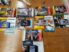 N64 CIB Wrestling Game Lot - RARE!  cleaned & tested!  All games complete!