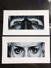 Jason Edmiston Bride of Frankenstein EWAF Eyes Without A Face Print Mondo Poster