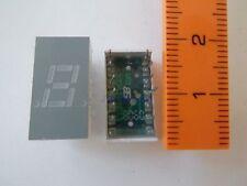 Avago Technologies HDSP-333G 7-Segment Anzeige LED 7,62mm Höhe Grün *3 Stück*
