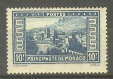 """MONACO STAMP TIMBRE N° 133 """" PALAIS PRINCIER 10F BLEU """" NEUF xx TTB"""