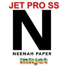 "INKJET IRON ON HEAT TRANSFER PAPER NEENAH JETPRO SS 8.5 X 11"" - 35 PK"