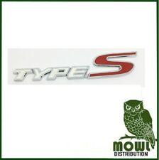 Honda Type S Badge Logo TypeS Badge White Logo